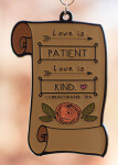 Love Is Patient 1 Mile, 5K, 10K, 13.1, 26.2 registration logo