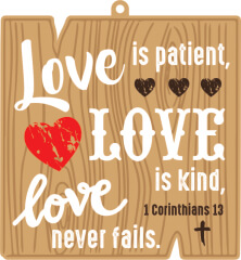 Love is Patient 1M 5K 10K 13.1 26.2