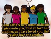 Love One Another 5K, 10K, 13.1, 26.2 registration logo