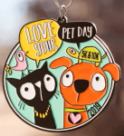 Love Your Pet Day 5K & 10K registration logo