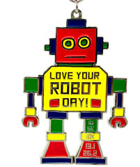 Love Your Robot Day 1M 5K 10K 13.1 26.2 registration logo