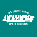Low and Slow 5K Run/Walk and Fun Run registration logo
