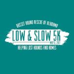 Low and Slow 5K Run/Walk and Fun Run registration logo