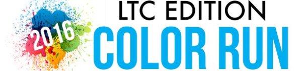 LTC Edition Color Run registration logo