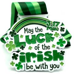 Luck of the Irish 3.17 Mile Race registration logo