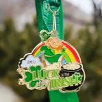 Luck of the Irish 3.17 Miler or 5K registration logo
