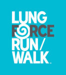 LUNG FORCE Run/Walk registration logo