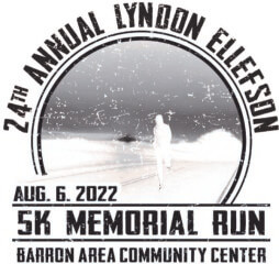 Lyndon Ellefson Memorial Run  registration logo