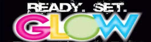Main Street Glow Run registration logo