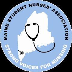 Maine Student Nurses' Association 5k registration logo