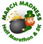 March Madness Half Marathon/ 5K registration logo