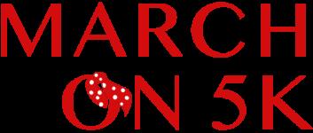March On 5k registration logo