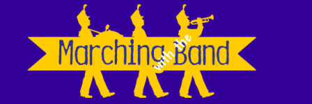 Marching with the Band registration logo