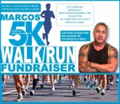 Marcos 5K RUN/WALK registration logo