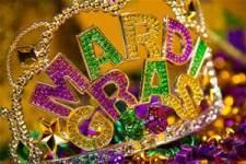 Mardi Gras 5k registration logo