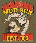 MARINE MUD RUN registration logo