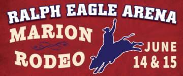 Marion Rodeo registration logo