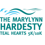 MaryLynn Hardesty Teal Hearts 5K/10K registration logo