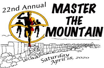 Master the Mountain 5K/10K registration logo
