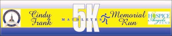 7th Annual Mathletes Cindy Frank Memorial 5K Run/1K Walk 05.04.19 registration logo