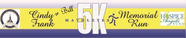 Mathletes Cindy Frank 5K Run/1K Walk registration logo