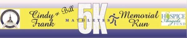 Mathletes Cindy & Bill Frank Memorial 5K Run/1K Walk registration logo