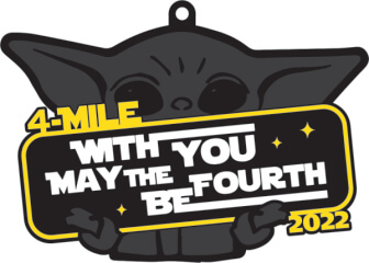 May the 4th Be With You - 4 Mile Virtual Race
