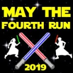May The Fourth Run - Star Theme Race registration logo
