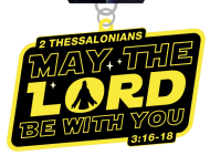 May the Lord Be With You 1 Mile, 5K, 10K, 13.1, 26.2 registration logo