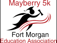 Mayberry 5k registration logo