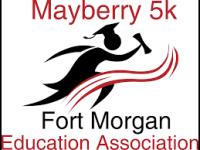 Mayberry 5k registration logo