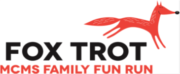 MCMS Fox Trot Family Fun Run registration logo
