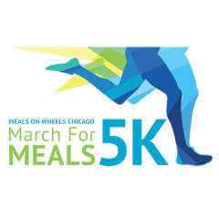 Meals on Wheels Chicago March For Meals 5K registration logo
