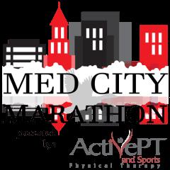 Med City Marathon 5k registration logo