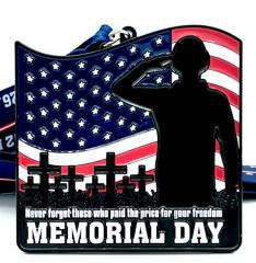 Memorial Day 1M 5K 10K 13.1 and 26.2 registration logo