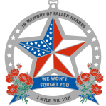 Memorial Day One Mile, 5K & 10K registration logo