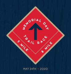 Memorial Day Trail Race registration logo