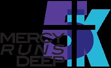 Mercy Runs Deep  registration logo