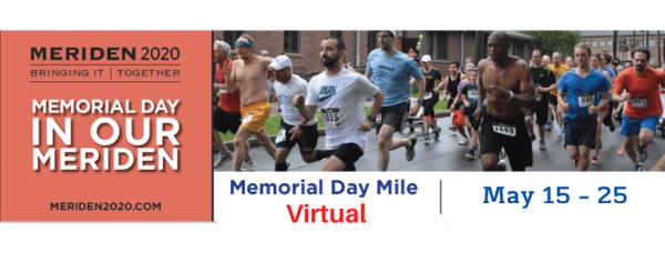 Meriden Memorial Mile registration logo