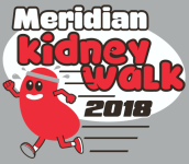 Meridian Kidney Walk registration logo