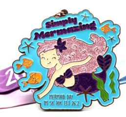 Mermaid Day - Simply Mermazing 1M 5K 10K 13.1 26.2
