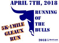 Merrill Lynch Running of the Bulls Charity Race registration logo