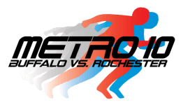 Metro 10 Buffalo vs. Rochester registration logo