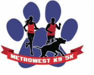 METROWEST K9 5K registration logo