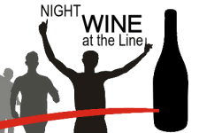 Michiana Wine Festival Night Wine at the Line 5K registration logo