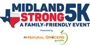Midland Strong 5K  registration logo