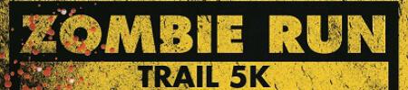 Midland Zombie 5k Trail Run/Walk registration logo