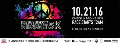 Midnight 5K registration logo