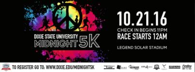 Midnight 5K registration logo