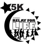 Midnight Glow 5K Walk Run registration logo